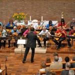 Böblingen, Paul-Gerhard-Kirche, Konzert des Böblinger Zupforchesters
